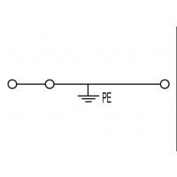 魏德米勒接线端子ZPE 6/3AN 接地型接线端子