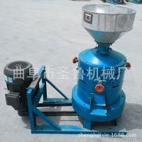 圣鲁砂辊碾米机 小型稻谷碾米机 家用玉米制糁机