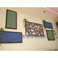 东莞挂式软木板T中山单面装饰软木板Y湛江幼儿园彩色照片墙