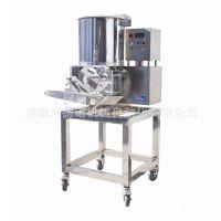 厂家推荐小型土豆饼成型机 鸡排成型设备 汉堡饼机器 肉饼机