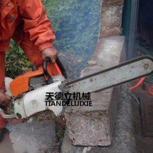 天德立进口原件070动力汽油链锯 切割钢筋混凝土内燃式链锯