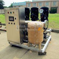 西安无负压供水设备 西安材质不锈钢304 人机界面变频恒压控制 RJ-L816
