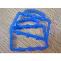 硅胶材质蓝色硅橡胶密封垫圈