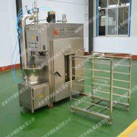 华钢首推专门烟熏豆腐干机器,不用翻面的豆干烟熏机,小型号熏干机器