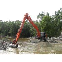 怀化斗山215-9水上挖掘机租赁水路挖掘机出租