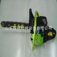 自锁式汽油锯 振德牌 伐木专用成套设备 手持式油锯 操作方法