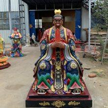 河南云峰佛像雕塑厂家定制 手工玻璃钢树脂神像 雷公电母神像 雷震子塑像