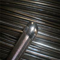 专业厂家供应不锈钢线绕滤芯 楔形网线绕滤芯 纯圆度楔形网管