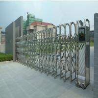 容桂不锈钢伸缩门安装、订制不锈钢伸缩门、电动伸缩门电机