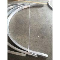 厂家推荐室内装修拉弯弧形铝方通吊顶尺寸规格 广东欧百建材