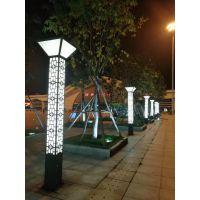 园林LED景观灯户外3米4米小区方形别墅庭院灯LED超亮防水公园广场灯灯谷照明