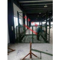厂房天锐固定导轨升降货梯/朝阳液压升降平台价格