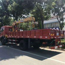 东风国五长兴14吨的随车吊多少钱