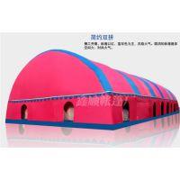 湖南保暖帐篷户外婚宴充气帐篷红白喜事专用免搭建三层账防风防雨一居室