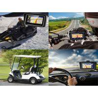 Karadar高尔夫汽车导航迷你便携式4.3 寸wince 导航