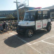 唐山地区5座电动巡逻车,保安物业夜间巡逻代步车