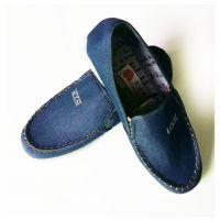 京都鞋厂低价出售超值春夏季透气男士牛仔布学生休闲板鞋