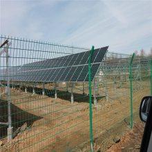 河北厂家高速护栏网 浸塑双边丝护栏网价格表 包头防护铁丝网栏