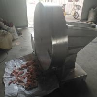 汇康牌刨肉机,冷冻猪肉破碎机,冻鸡肉切片机