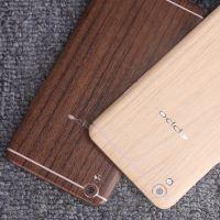 OPPO R9彩膜 木纹背贴膜 r9plus手机贴纸全身保护膜磨砂后盖边框