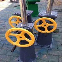 衡阳闸门 厂家供应手轮式螺杆式启闭机 水利闸门专用 手轮式启闭机