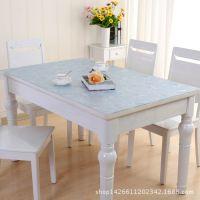 软玻璃防水桌布餐桌垫耐高温PVC塑料垫塑料片厂家直销批发价