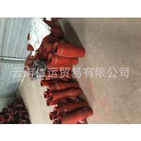 W型柔性铸铁管件专用201材质变径卡箍50-75