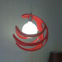 热卖玛斯欧MS-P1003树脂艺术球形吊灯E27灯头国标0.75CE认证电线红白黑色可选