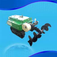 大棚果园履带式开沟机 启航果树土杂肥回填机 自走式枣树开沟施肥机