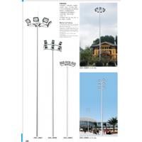 江门框架高杆路灯 云浮飞碟高杆灯 科尼星10米双臂路灯价格