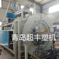 PE克拉管生产线,超丰塑料机械PE管设备,HDPE连续克拉管生产线设备