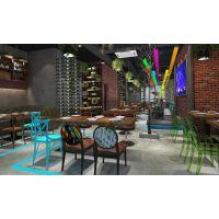 贵阳西餐厅装修设计有效地组织空间-筑格装饰