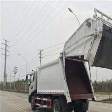 苏州市5吨压缩垃圾车,摆臂式垃圾车可分期