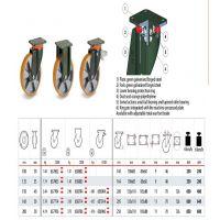 意大利Tellure rota 万向轮 聚氨酯轮,高端用品