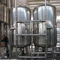 供应井水除铁锰304机械过滤器立式砂炭过滤罐滤尔水厂家