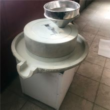 香油优质电动石磨机 小型商用豆浆石磨机 宏瑞黄豆磨浆设备