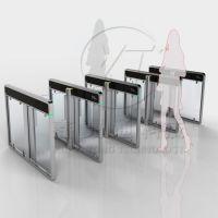 电子门票速通门,政府单位出入口速通门,鑫翼通3D人脸识别闸机
