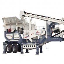 移动式建筑垃圾破碎站 时产200吨破碎设备 分期付款山东生产厂家