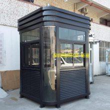 冠邦钢结构岗亭同城卖家包送货 钢化玻璃岗亭钢结构阳光房颜色可定制