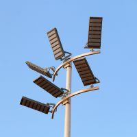 湖南足球场专用灯 雅浩高杆灯带升降功能价格 标准球场LED灯杆角度