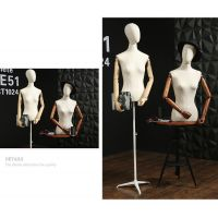 半身包布女服装店展示模特批发定做半身人体陈列模特