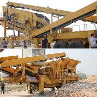 有钢移动碎石站供给优质高速公路用石料 绵阳车载碎石生产工艺