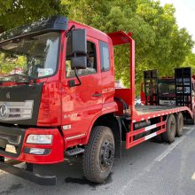 东风250挖机拖车25吨挖机平板拖车厂家
