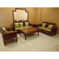 新中式组合沙发客厅布艺沙发名琢世家