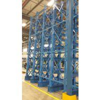 管材伸缩式悬臂货架安装步骤及载货方式