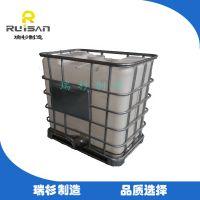 【厂家直销】马鞍山优质500L塑料吨桶/1吨堆码桶/化工储运容器