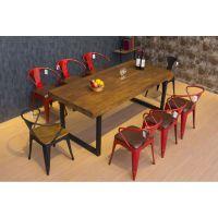 厂家直销工业风餐厅桌椅 咖啡馆桌子椅子 新款 餐厅设计必须要考虑的