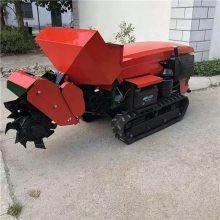 履带轮坡地旋耕回填机 启航果园施肥机 苹果树回填开沟机