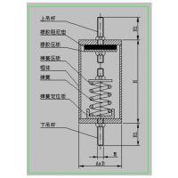 落地阻尼弹簧减震器(弹性橡胶和弹簧完美组合)供应商【厦减减振器】