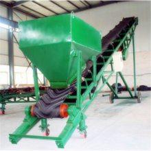 楼层上货用皮带输送机 兴运生产袋装肥料用皮带输送机